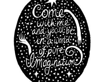 Pure Imagination Ink Fine Art Print