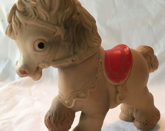 Sun Rubber Co - Pony Squeak Toy - Adorable!