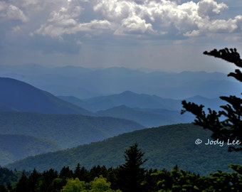 Smoky Mountains, North Carolina,Wall Art, Home Decor,Blue Ridge Parkway, Mountain, Landscape Photography ,10 x 15