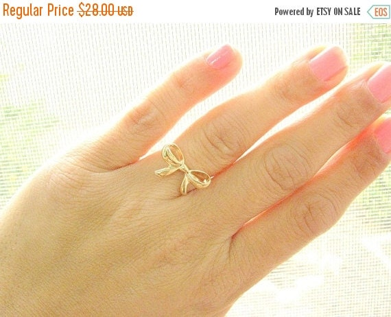 SALE - Knot ring, (6.5)