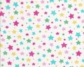 Lecien Flower Sugar Holiday 31330 10  - Half Yard - Christmas Fabric - Star Fabric - Japanese