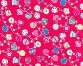 SALE!! Lecien Flower Sugar Holiday 31329 30  - Christmas Fabric - Ornament Fabric - Japanese