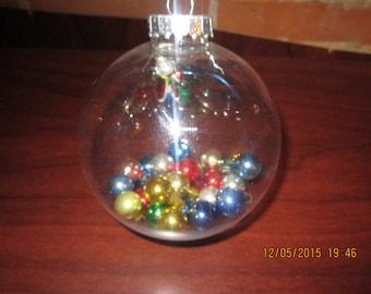 Santa Bauble Christmas Tree Ornament
