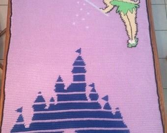 Tinker Bell Crochet Blanket