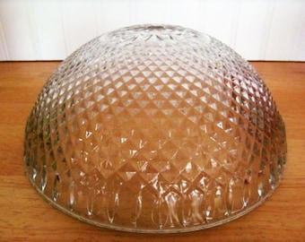 Vintage Glass Ceiling Light Fixture