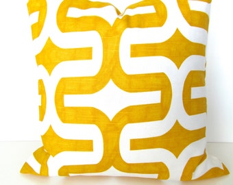 YELLOW PILLOWS Yellow Throw Pillow Covers Yellow Pillow Covers 16 18 20x20 .All Sizes. Contemporary Home and living Home Decor