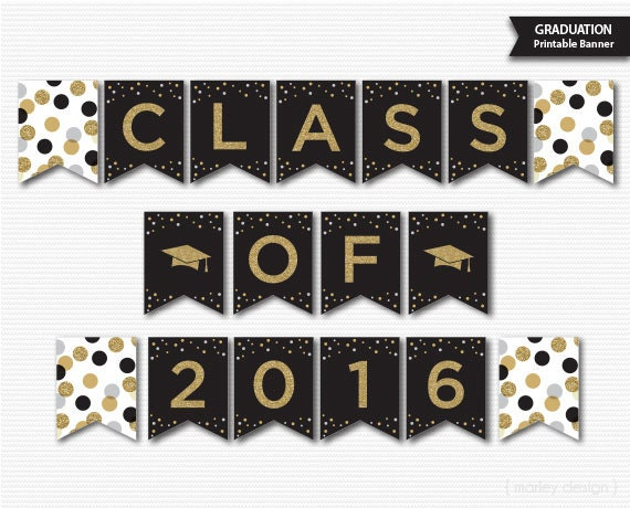 Graduation Banner Graduation Decorations by MarleyDesign on Etsy