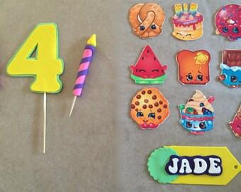Shopkins Inspired Cake Decorating Kit