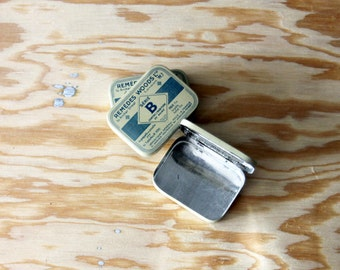 Vintage Tin Pill Box