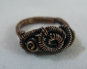 Copper - ring - size 8
