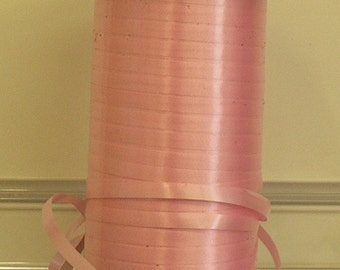 Curling ribbon - cut to order - various lengths available - pinks and reds