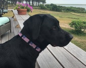 American Flag Dog Collar / Flag Collar / Patriotic Collar / 4th of July Collar /Two Sizes - 1 inch and 5/8 inch