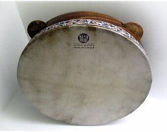 30cm Tambourine Timbrel Tamborello Pandeiro Epirotiko Defi Riq Framedrum Hammered Bronze Zils Jingles by KleoDrums