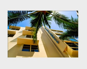 Miami Photography Art Clevelander Ocean Dr MIami Beach