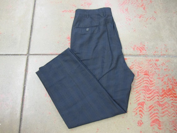 1950s / Early 1960s Mens Pants // 50s 60s Clothing // Trousers