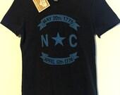 The Classic North Carolina Shirt - Flag Star Emblem & Seal
