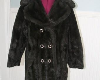 Faux Fur 70s coat Sharpee of Minneapolis