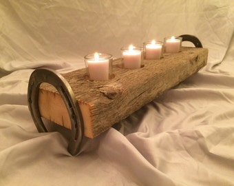 Barn Wood Candle Holder *FREE SHIPPING*