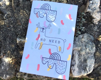 No Need - Zine (not for kids)