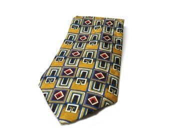 True Vintage- 90s Silk tie, Gabbanini Uomo