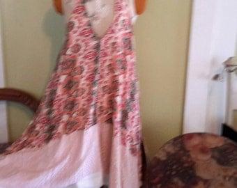 Shabby chic upcycled vintage boho bohemian
