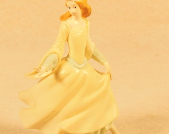 "Vintage-1974-Cinderella Cake Topper-Wilton -Never Used-5"" Tall"