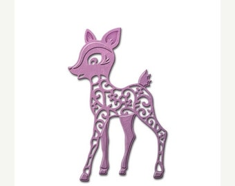 ON SALE Spellbinders® Die D-Lites Deer S2-159