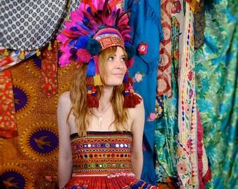 Amaranth - Feather Headdress