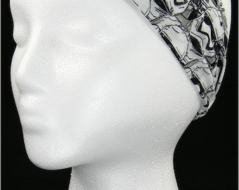 Star Wars First Order Storm Trooper The Empire headwrap/headband (Handmade in the United States)