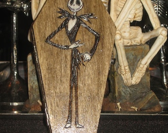 Jack Inspired Coffin