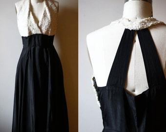 1950s Marilyn dress // sequin dress // vintage dress