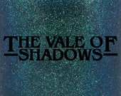 "The Vale of Shadows multichrome holographic flake nail polish 15 mL (.5 oz) from the ""Curiosity Door"" Collection"