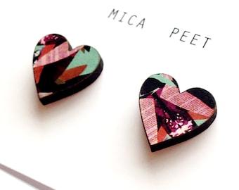 Valentines Gift - Heart Earrings - Love Heart Earrings - Gifts for Her - Anniversary Gifts - Gifts for Mum - Love Heart Jewellery
