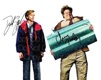 Tommy Boy signed poster Chris Farley David Spade 8X10 photo picture autograph RP 1
