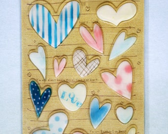 Pure Heart Sticker Sheet