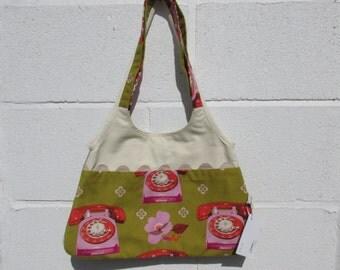 Fabric handbag 176