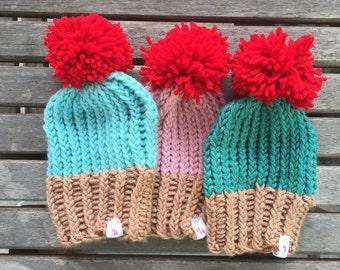 Hannah's Hats: Cupcake Beanie
