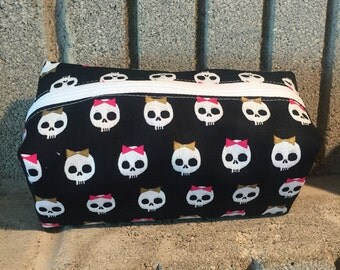 Skully Bow Pouch