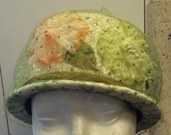 Vintage Green Like New Green Mr. Richard Easter Hat