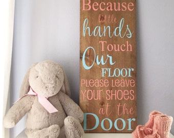 Because little hands touch our floors