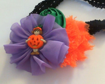Handmade Halloween headband