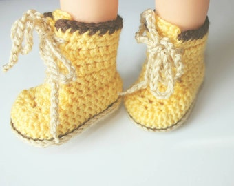 Newborn Baby Boots, Work Boots, Combat Boots, Construction Boots - Newborn Photo Prop-  Baby Shower Gift