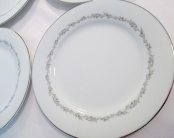 Vintage Noritake China Crestmont Salad Plates - Set of 4