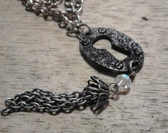 Keyhole Dangle Necklace