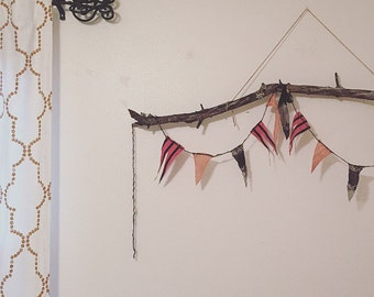 Boho Buntings/Kids Rooms/Room Decor/Banner/New Vintage
