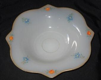 Beaumont Glass Ferlux # 115 Console Bowl ca 1920 Art Deco