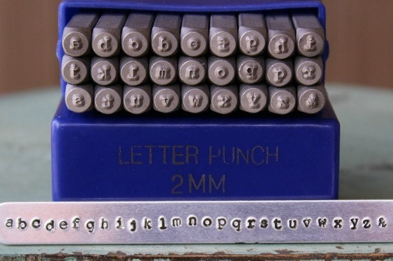 2mm machine crire police alphabet minuscule lettre stamp for Stampe minuscole