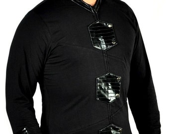 Cryoflesh Paragon Gothic Industrial Futuristic Cyberpunk Stylish Cyber Ls Top Male