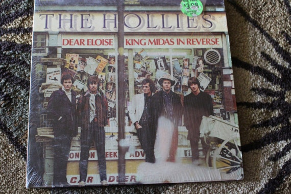 David Jones Personal Collection Record Album - The Hollies - Dear Eloise - King Midas In Reverse