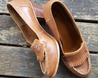 Perfect Caramel Moccasin Loafers
